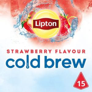 Lipton Cold Brew Strawberry Flavoured 15 Teabags 37.5g