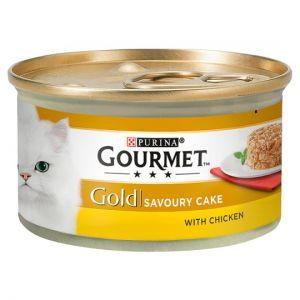 Gourmet Gold Savoury Cake With Chicken 85g