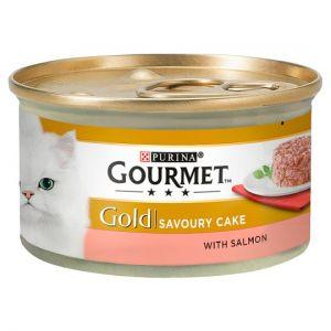 Gourmet Gold Savoury Cake Salmon 85g
