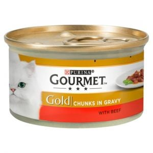 Gourmet Gold Chunks In Gravy Beef 85g