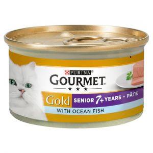 Gourmet Gold Senior Pate With Oceanfish 85g
