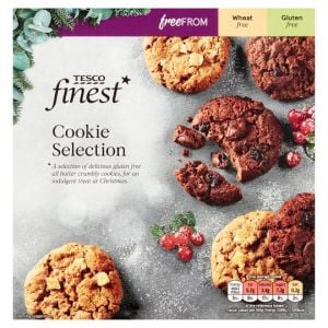 Tesco Finest Free From Cookie Selection 264g