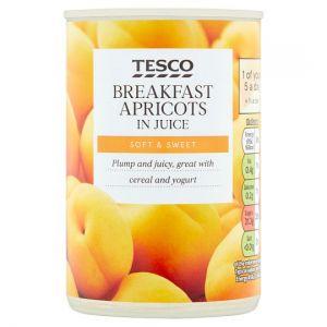 Tesco Breakfast Apricots In Juice 300g