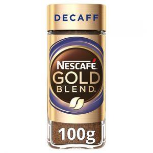 Nescafe Gold Blend Decaffeinated 100g