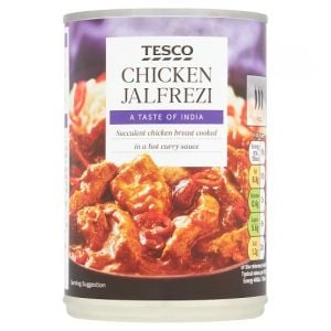 Tesco Chicken Jalfrezi 400g