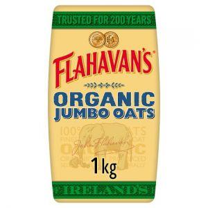 Flahavan's Irish Organic Jumbo Oats 1kg