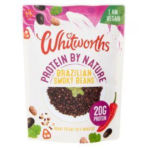 Whitworths Protein Brazilian Smoky Beans 250g