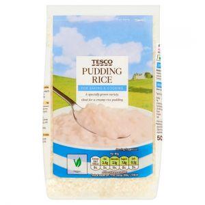 Tesco Pudding Rice 500g
