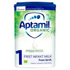 Aptamil Organic 1 First Baby Milk Formula 800g