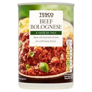 Tesco Beef Bolognese 400g