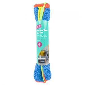 Keep It Handy Microfibre Cloths 4 Pack