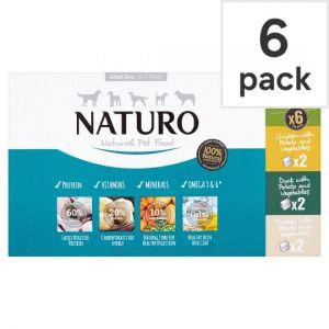 Naturo Dog Grain Free Variety 400g 6 Pack