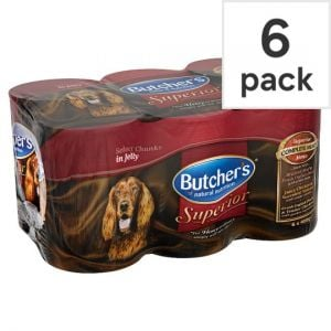Butchers Superior Jelly Dog Food 6 X400g