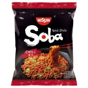 Nissin Wok Style Soba Noodles Chilli 111g