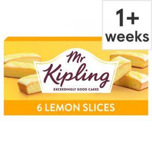 Mr Kipling Lemon Slice 6 Pack