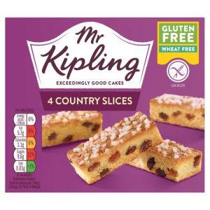 Mr Kipling Gluten Free Country Slice 4 Pack