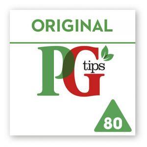 Pg Tips Pyramid 80 Tea Bags 232g