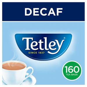 Tetley Decaffeinated 160 Tea Bags 500g