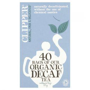 Clipper Organic Decaffeinated 40 Tea Bags 125g