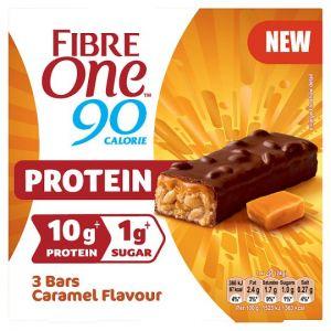 Fibre One Protein Caramel Bars 3X24g