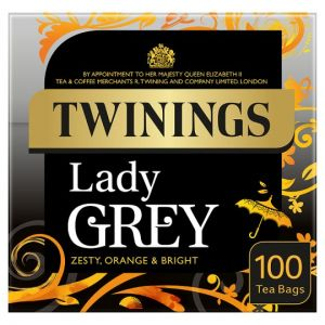 Twinings Lady Grey 100 Tea Bags 250g
