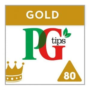 Pg Tips Pyramid Gold 80 Tea Bags 232g