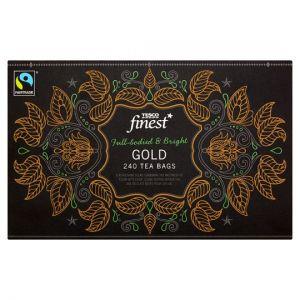 Tesco Finest Gold 240 Tea Bags 750g