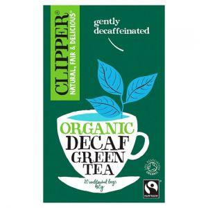 Clipper Organic Fairtrade Decaffeinated Green Tea 20'S