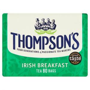 Thompsons Irish Breakfast Tea 80 Tea Bags 250g