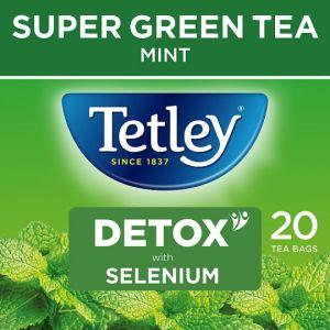 Tetley Super Green Detox Mint 20S 40g
