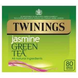 Twinings Green Tea Jasmine 80 Tea Bags 200g