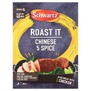 Schwartz Roast It Chinese 5 Spice Seasoning 25g