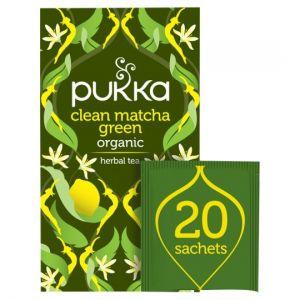 Pukka Organic Clean Green 20 Tea Bags 30g
