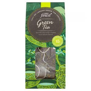 Tesco Finest Green Tea 15 Tea Bags 30g