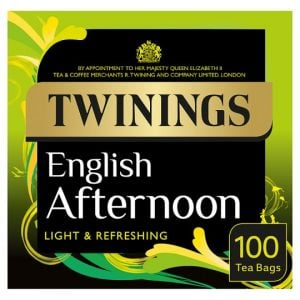Twinings English Afternoon 100 Tea Bags 250g