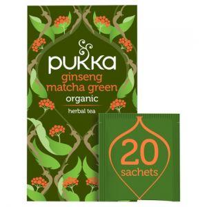 Pukka Organic Ginseng Matcha Green Teabag 30g