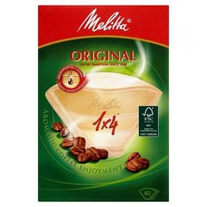 Melitta Coffee Filter Papers 1X4 40 Pack