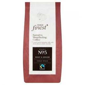 Tesco Finest Roast & Ground Coffee Sumatra Mandheling 227g