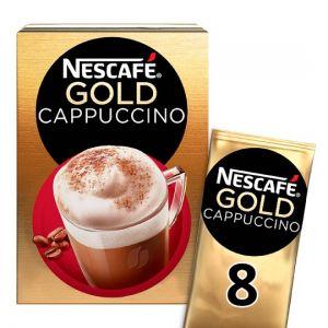 Nescafe Gold Cappuccino 8 Sachets 136g