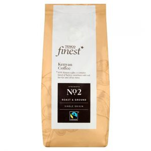 Tesco Finest Kenyan Fair Trade Ground Coffee 227g