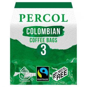 Percol Fairtrade Colombian Coffee Bags 80g