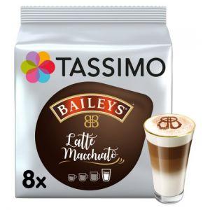 Tassimo Baileys Latte Macchiato 8 Coffee Pods 264g