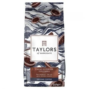 Taylors Cacao Colombia Ground Coffee 227g