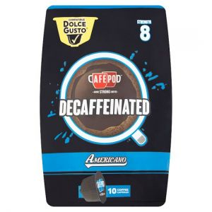 Cafepod Dolce Gusto Decaffeinated 10 Pack 70g