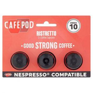 Cafepod Triple Shot Ristretto 16.5g