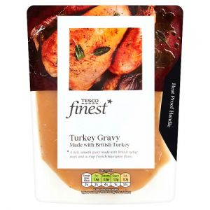 Tesco Finest Turkey Gravy 350ml