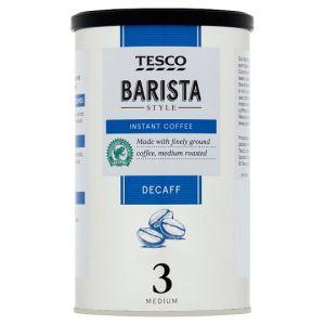 Tesco Barista Style Decaffeinated Coffee 100g