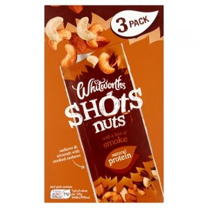 Whitworths Smoke Shots Nuts 3X25g