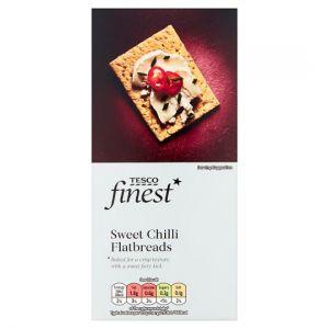 Tesco Finest Sweet Chilli Flatbread 150g