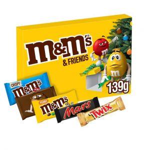 M&M's & Friends Christmas Selection Box 139g